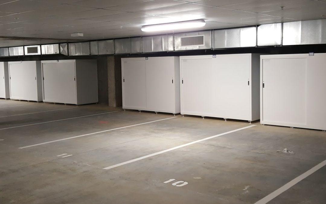 Basement Carpark Storage Specialists