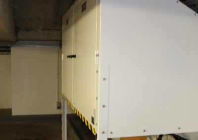 Over Bonnet Jaloc Storage Locker Custom Folded for clearance