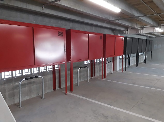 Carpark Storage Locker