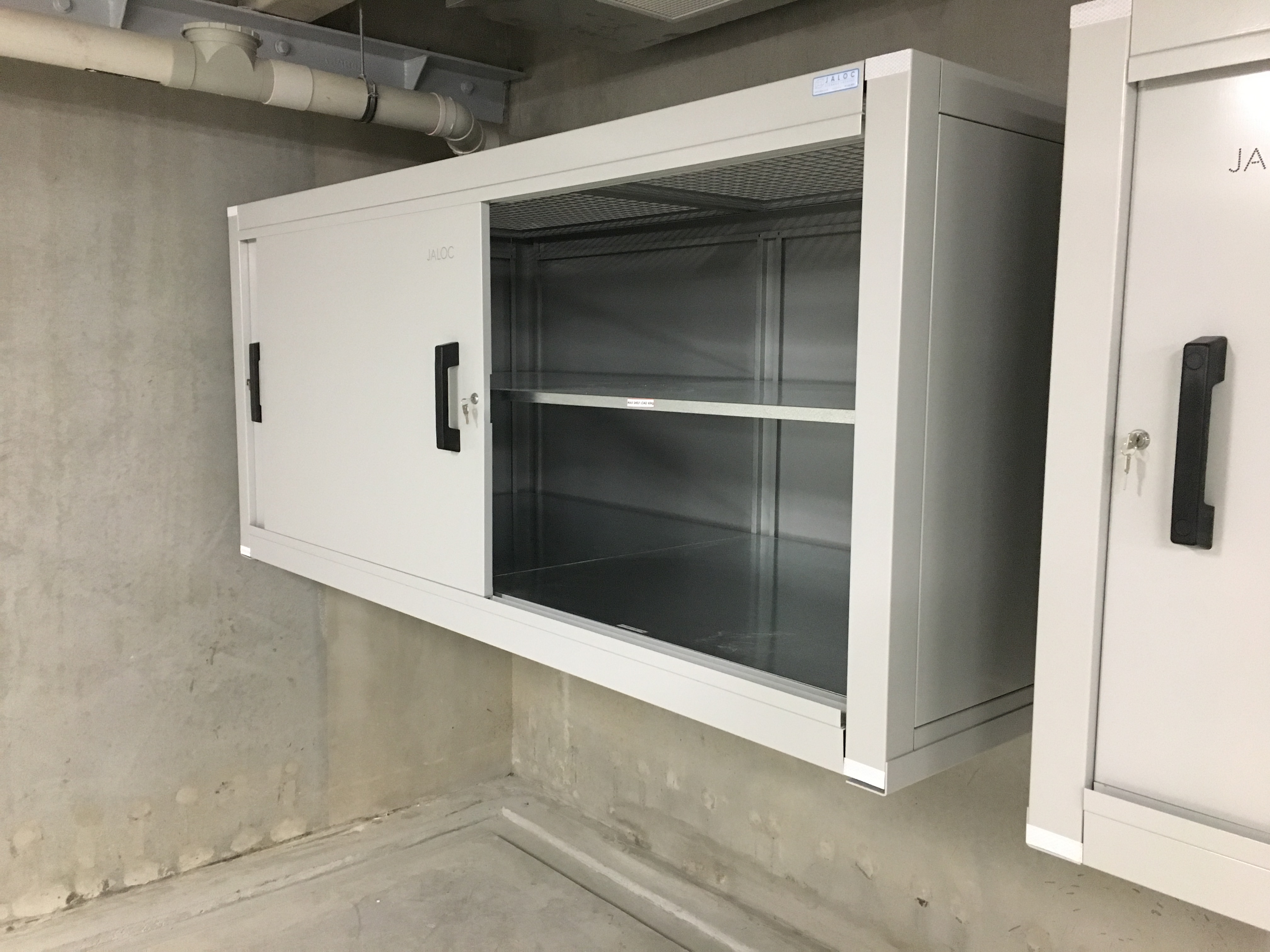 Jaloc Over Bonnet Wall Mounted Locker Orewa
