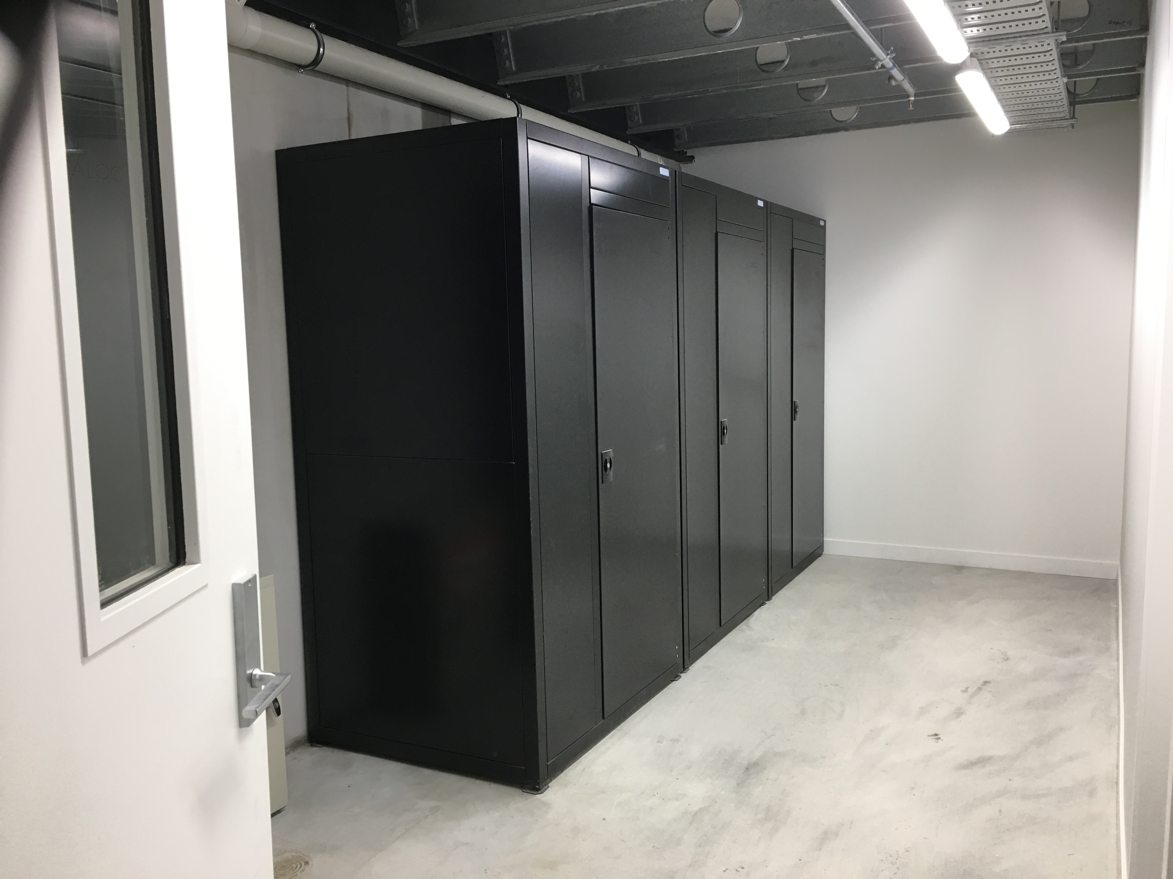 Jaloc Single Upright Storage Locker. Grey Lynn Auckland