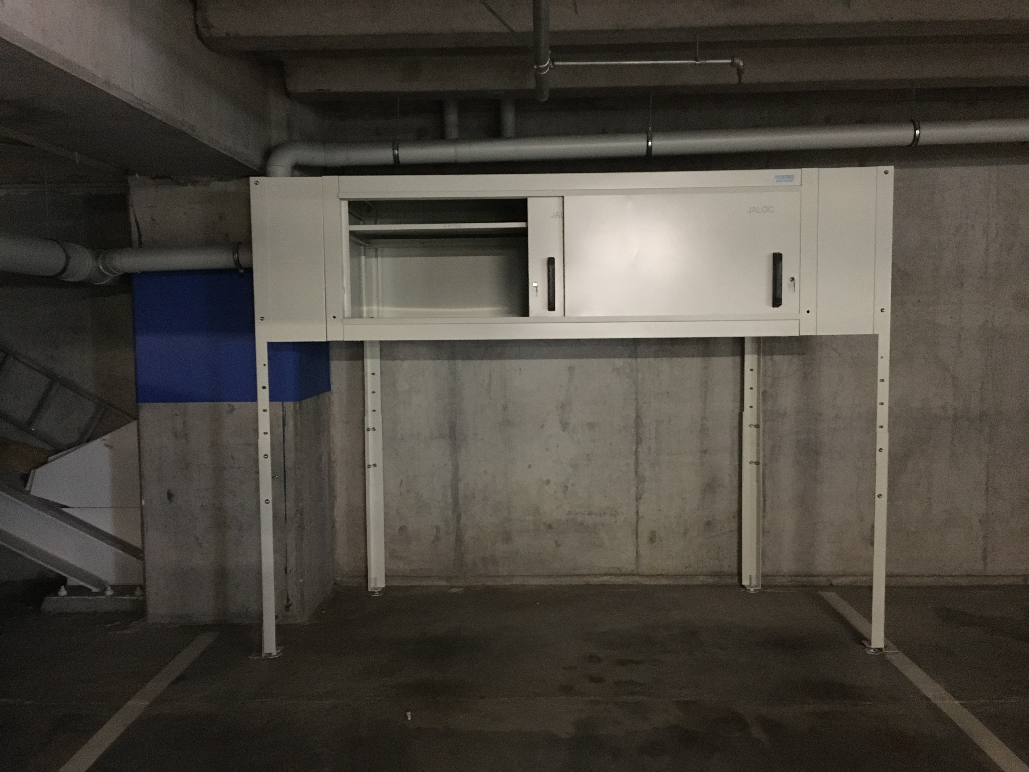 Bespoke Over Bonnet Storage Locker (1)