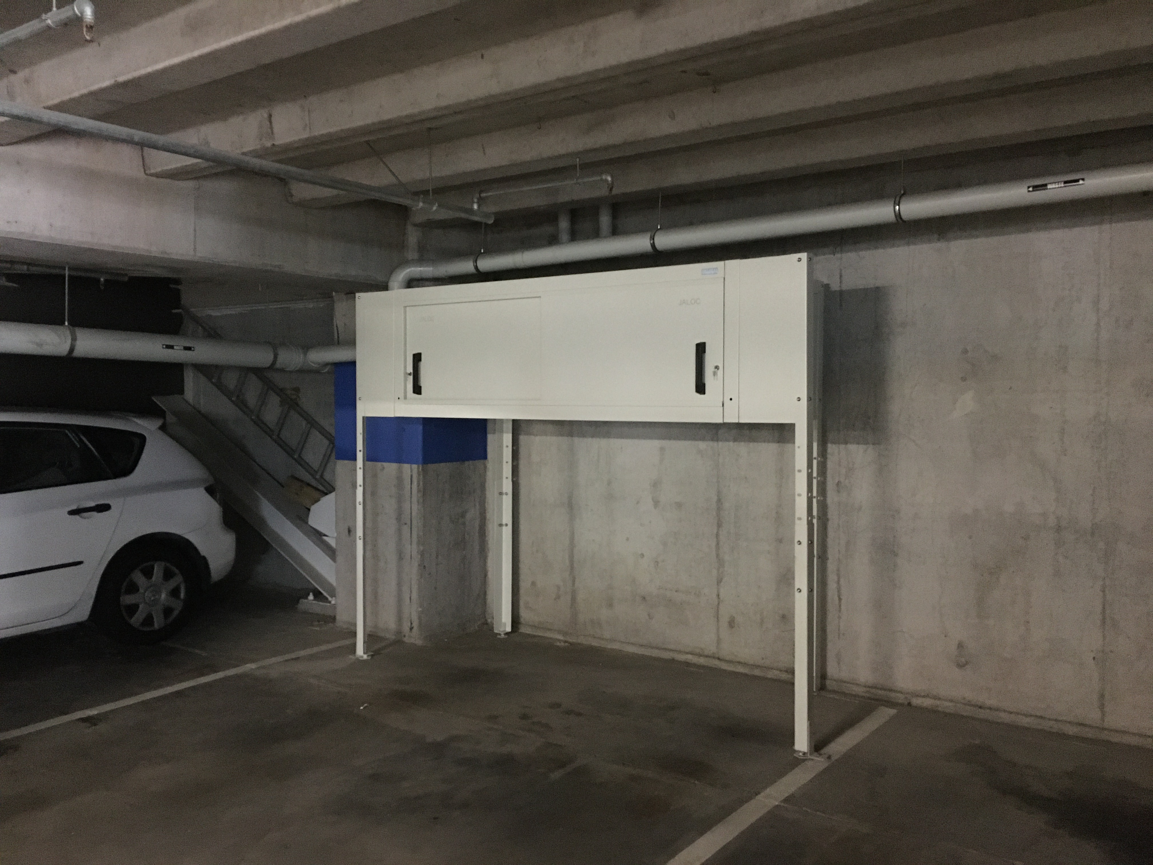 Bespoke Over Bonnet Storage Locker Ponsonby Auckland