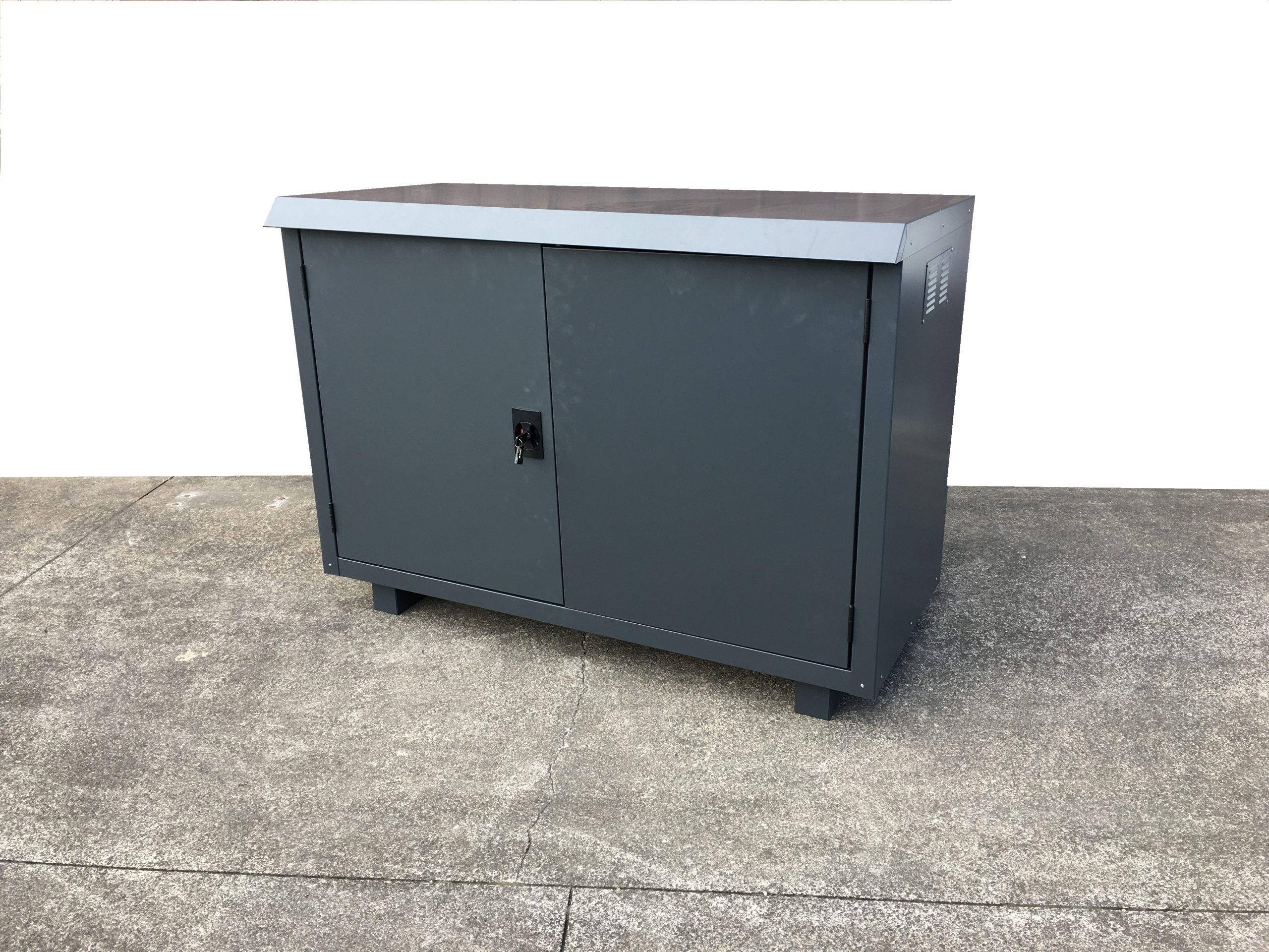 Jaloc Outdoor Locker Closed
