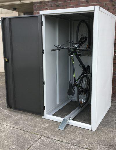 bike shed lock up