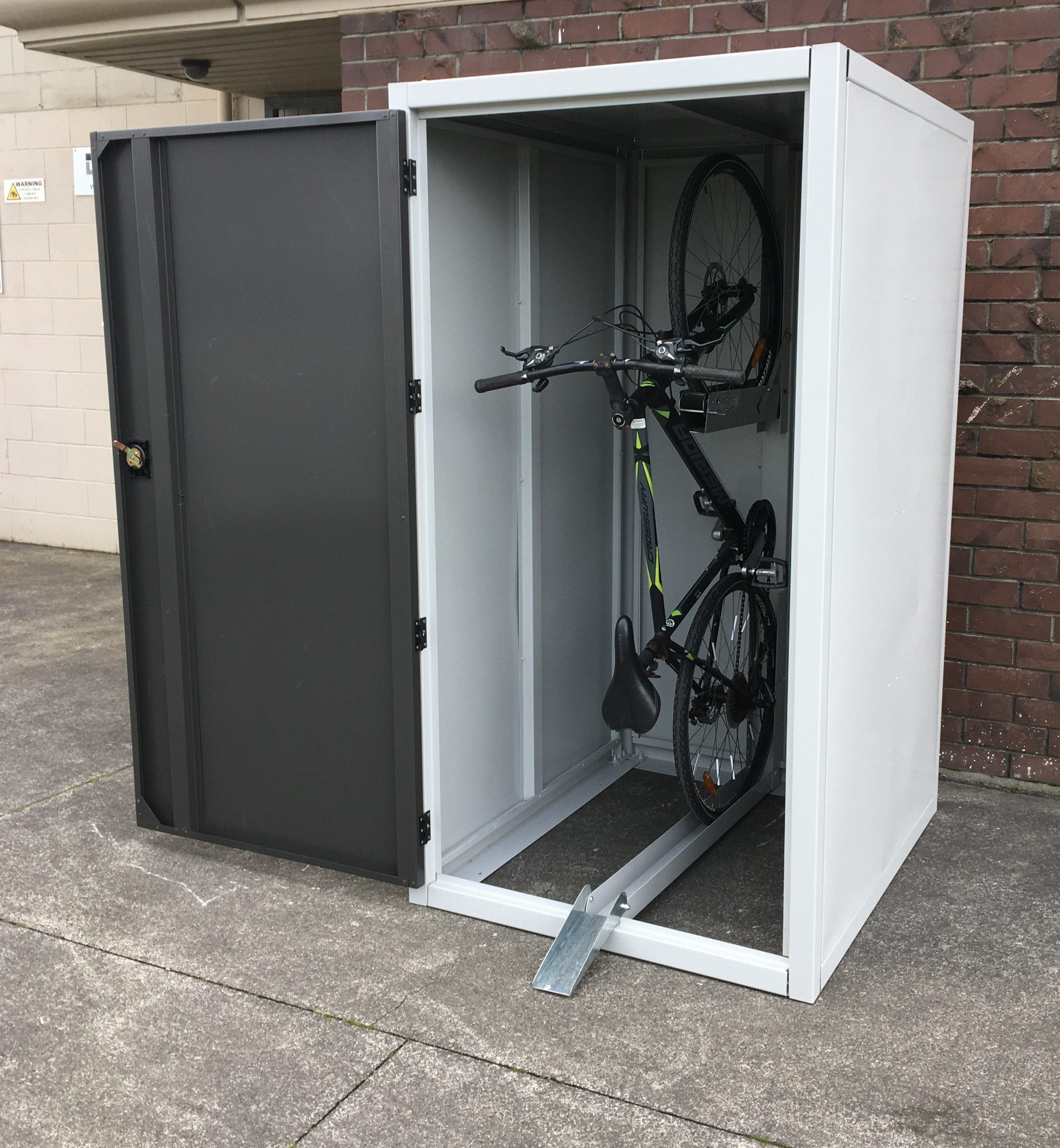 bike shed lock up