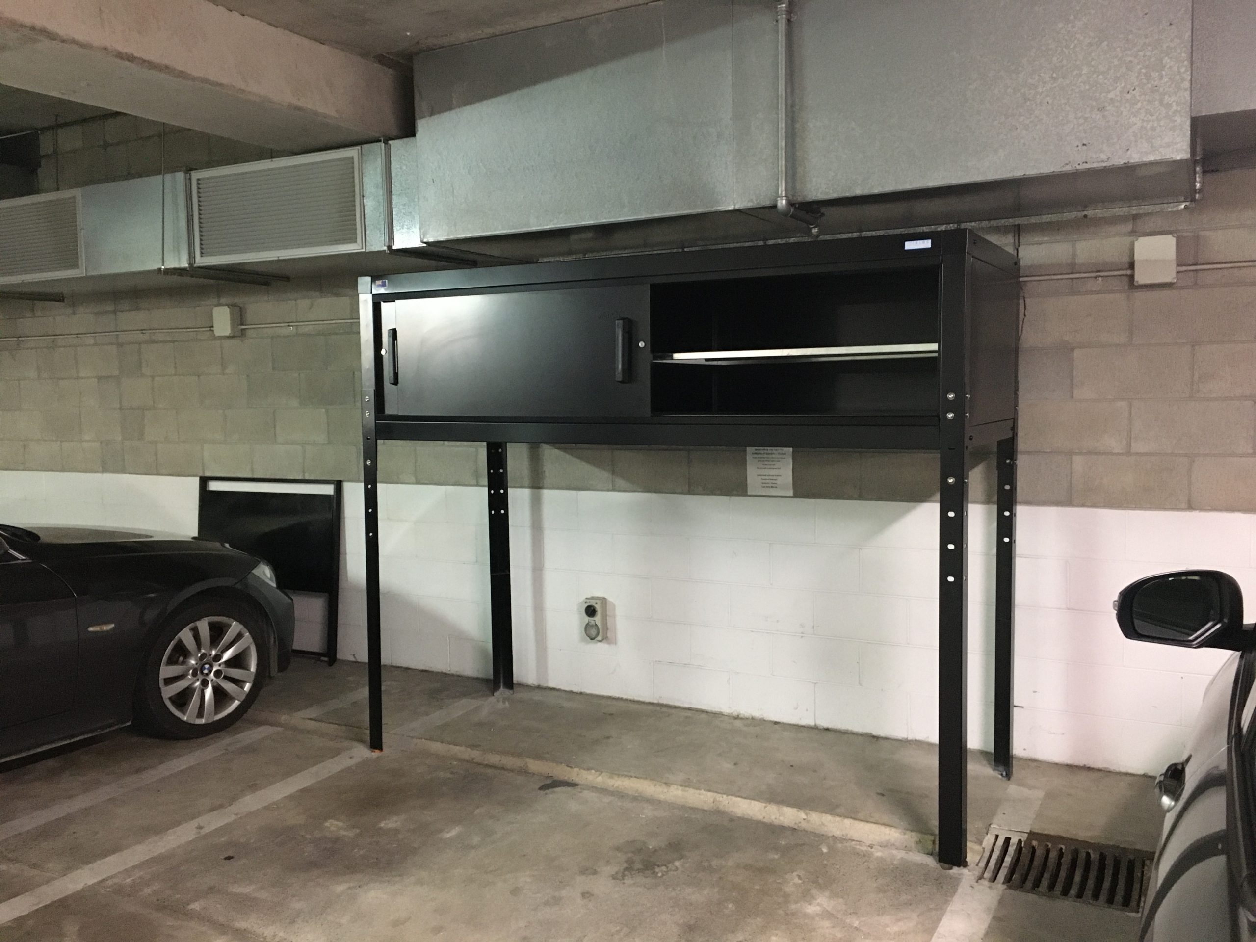 Jaloc Over Bonnet Storage Locker