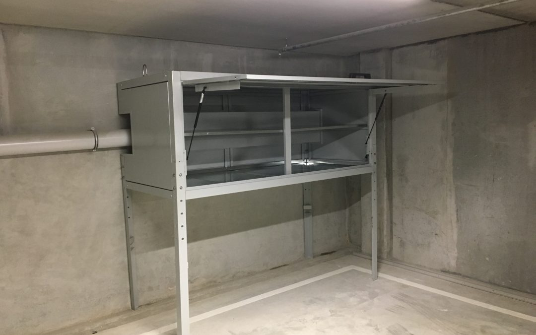 Jaloc Over Bonnet Storage Locker
