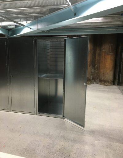 Jaloc MH Locker Apartment Storage Metal Cabinet