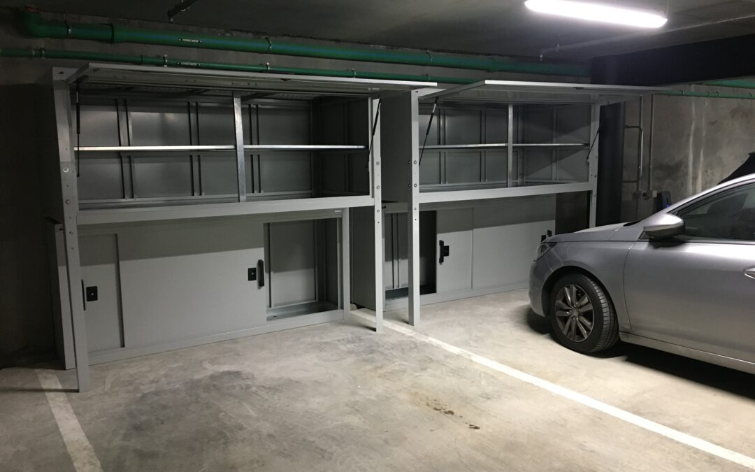 Jaloc Apartment Carpark Garage Storage Ideas
